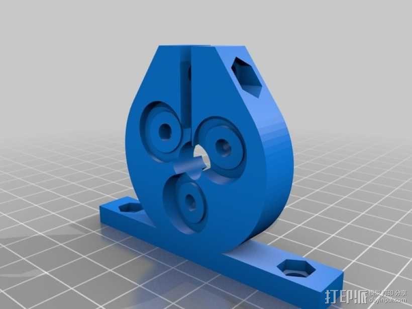 定制化滚珠丝杆 3D模型  图1