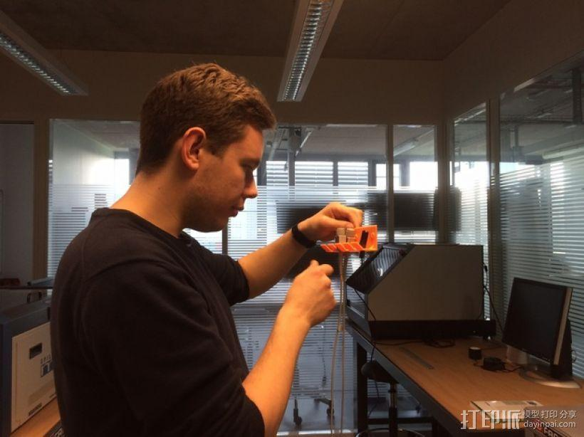 壁挂式线缆架 3D模型  图7