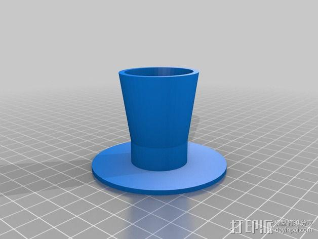 立体3D笔 支架/底座 3D模型  图2