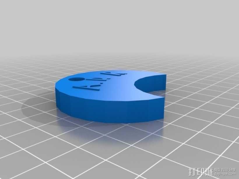 Nalgene水瓶 饮水防漏装置 3D模型  图1