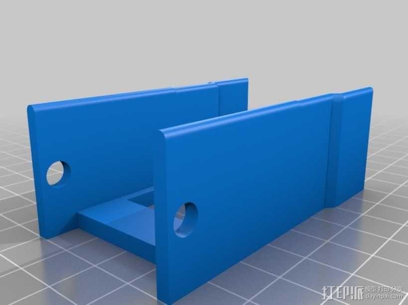 """公厕""""使用中""""标志 3D模型  图3"""