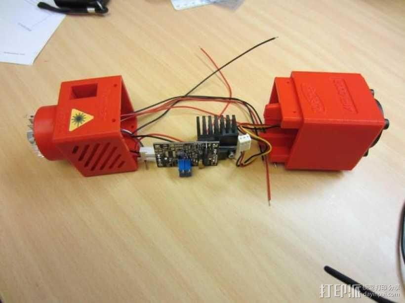 激光器外壳 3D模型  图3