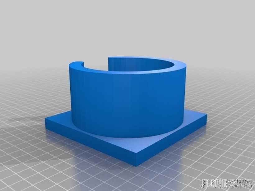 参数化蠕动泵 3D模型  图5