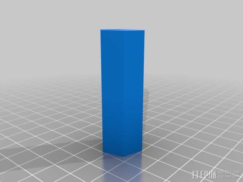 参数化蠕动泵 3D模型  图4