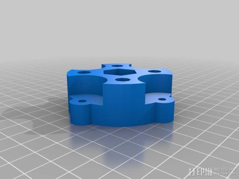 参数化蠕动泵 3D模型  图7