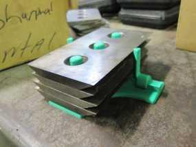 Bandit 250木片切削机 刀片架 3D模型