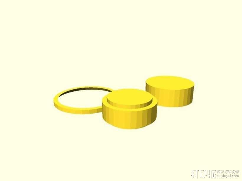 BB棘轮  3D模型  图2