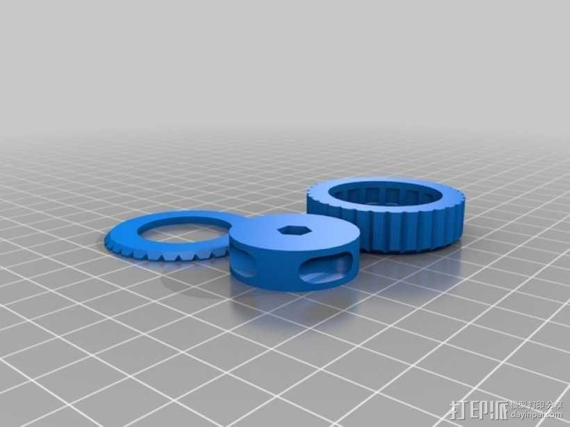 BB棘轮  3D模型  图5