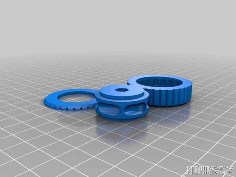 BB棘轮  3D模型  图4