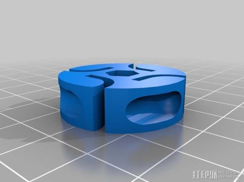 BB棘轮  3D模型  图6