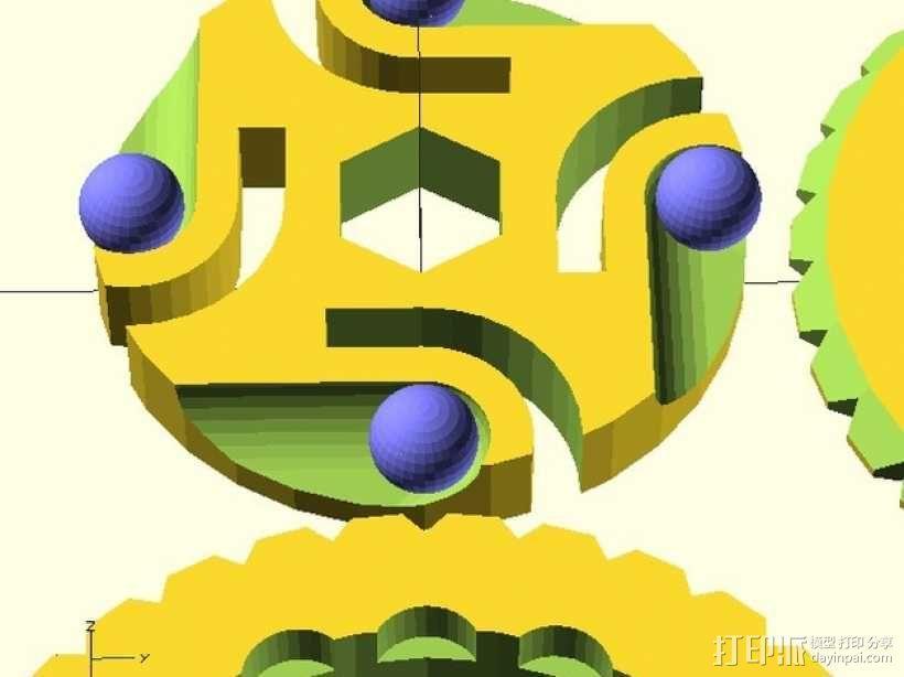 BB棘轮  3D模型  图8