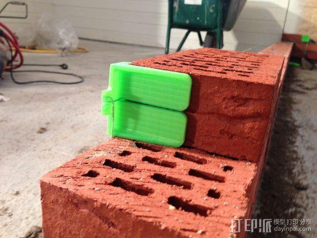 砌砖引导装置 3D模型  图2