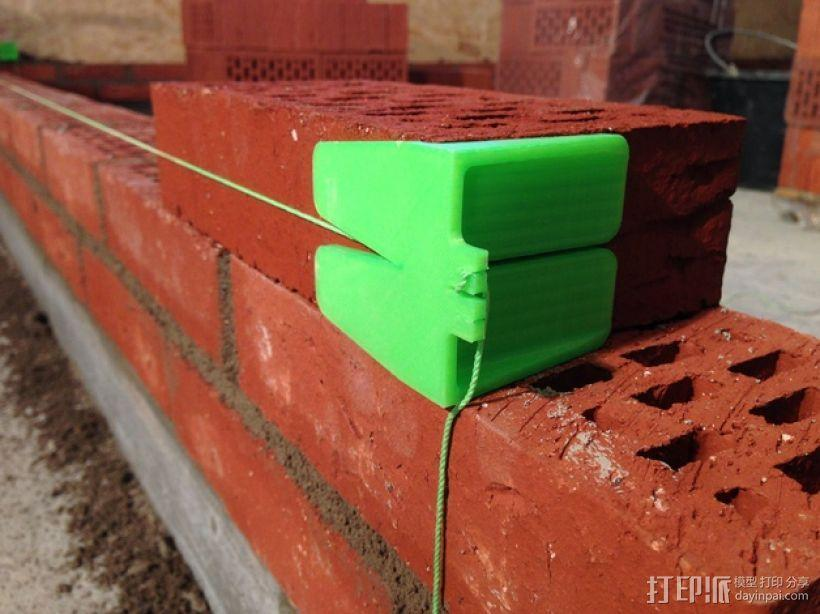 砌砖引导装置 3D模型  图1