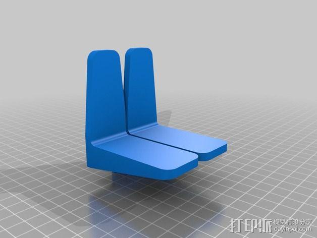 砌砖引导装置 3D模型  图3