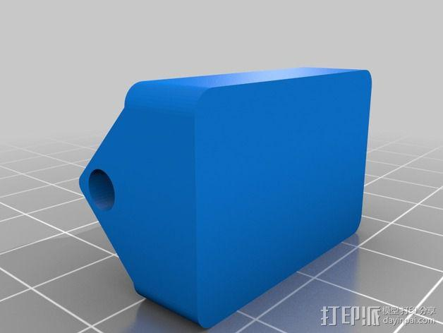 手动夹钳 3D模型  图2