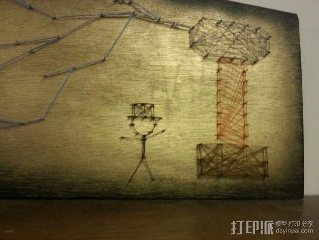 线筒 穿线器 3D模型  图5