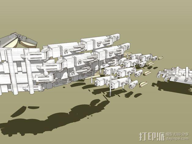 机械手 3D模型  图3