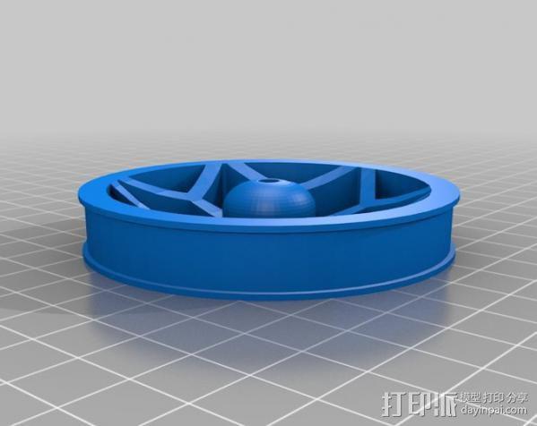 机器人 轮胎 3D模型  图2