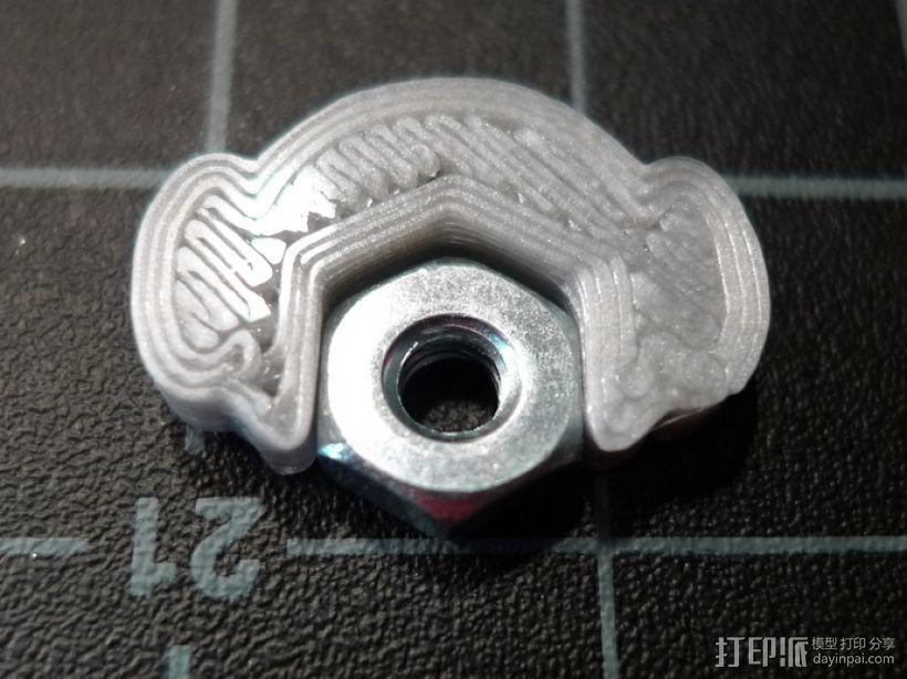 螺母紧固装置 3D模型  图1