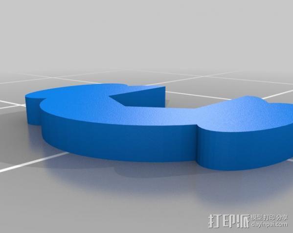 螺母紧固装置 3D模型  图5