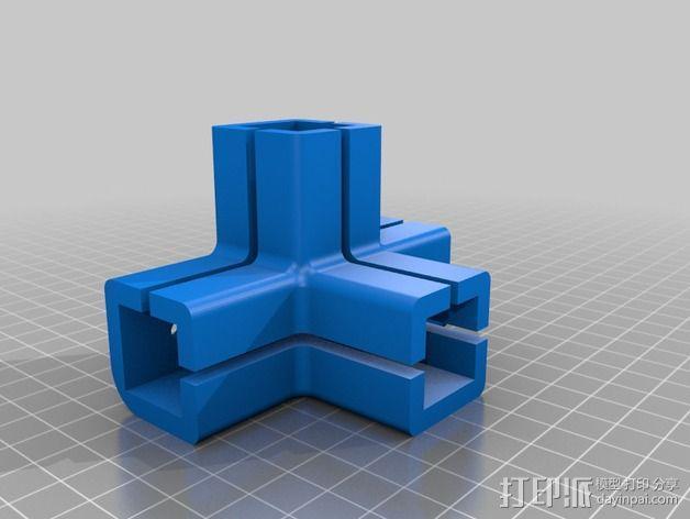 连接头 3D模型  图2