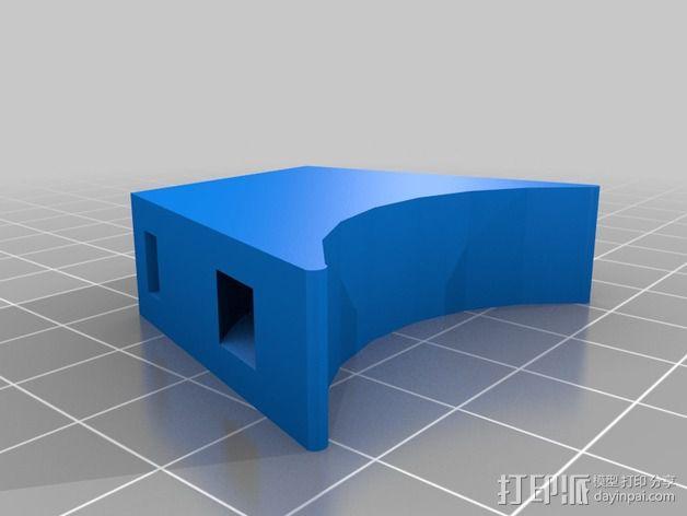 压缩机加固装置 3D模型  图2