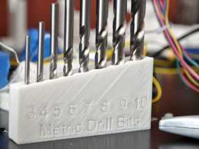 标准钻头置放架 3D模型
