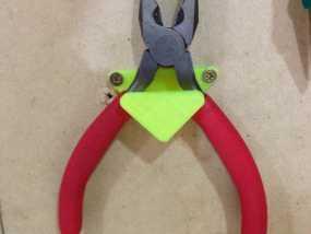 老虎钳固定架 3D模型