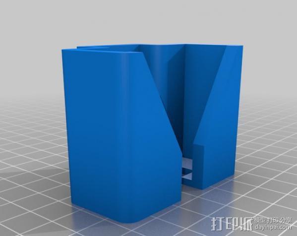 听诊器固定架 3D模型  图3