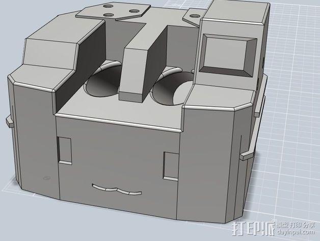 坦克笔架 3D模型  图2