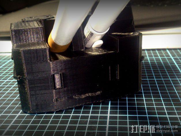 坦克笔架 3D模型  图4