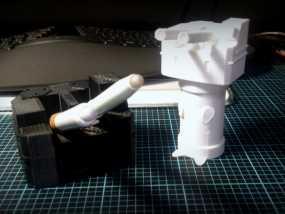 坦克笔架 3D模型