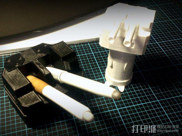 坦克笔架 3D模型  图5