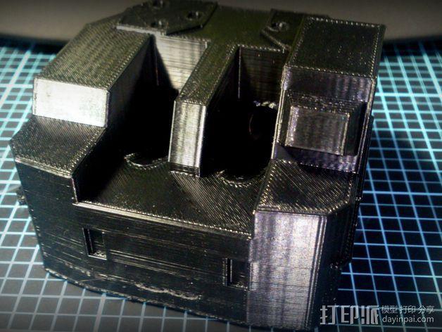 坦克笔架 3D模型  图6