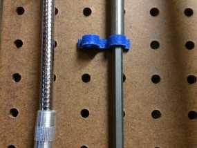 电动螺丝刀固定架 3D模型