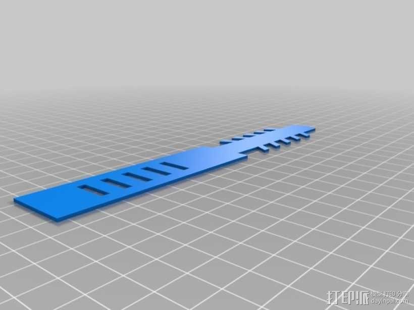 可重复利用的束线带 3D模型  图6