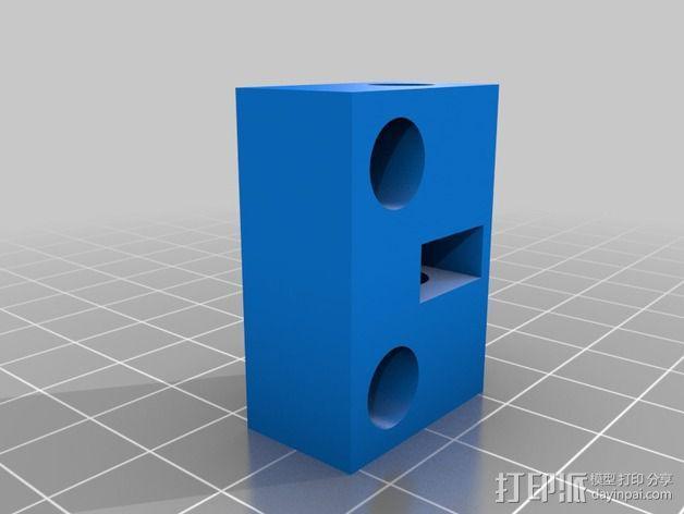 ShapeOko设备 水平校准装置 3D模型  图2