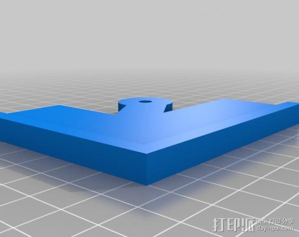 钻孔样板 3D模型  图2