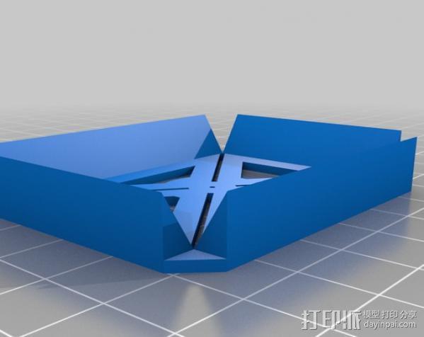 钻孔样板 3D模型  图3