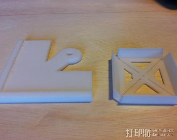钻孔样板 3D模型  图4