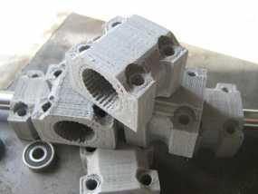 LM12UU滚珠轴承零部件 3D模型