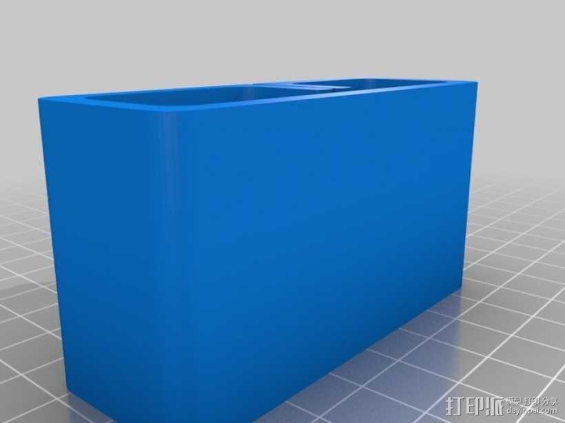 砂纸架 3D模型  图2