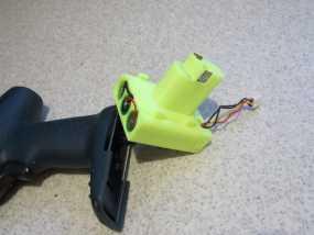 Bosch GSR电动起子 电池底座 3D模型