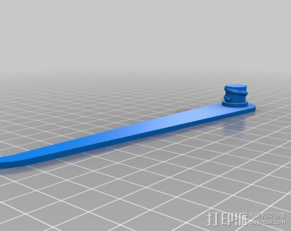 简易卡尺 3D模型  图5