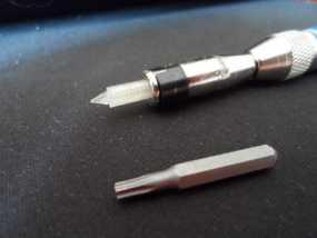 4毫米螺丝刀头 3D模型
