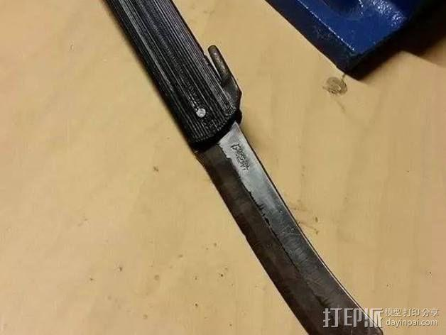 Higonokami 刀柄 3D模型  图8