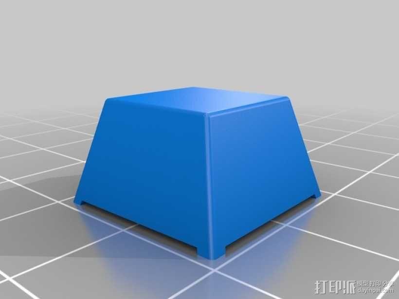键盘 按键键帽 3D模型  图1