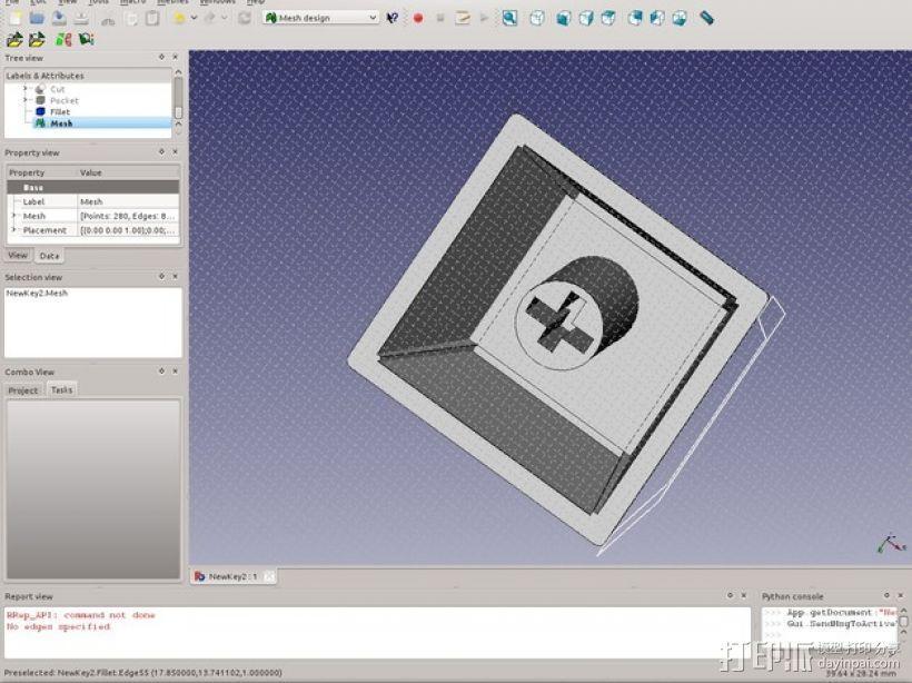 键盘 按键键帽 3D模型  图4
