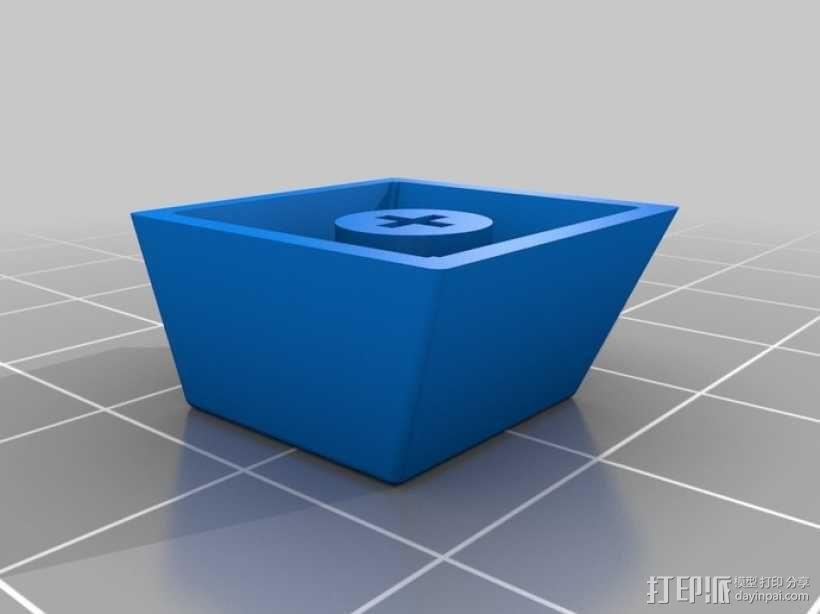 键盘 按键键帽 3D模型  图6