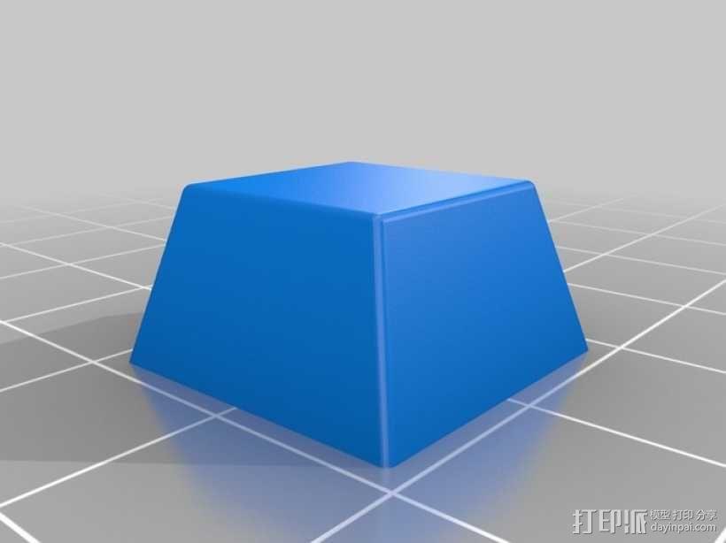 键盘 按键键帽 3D模型  图3